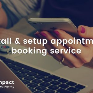Install & setup appointment booking service
