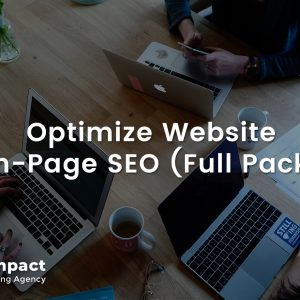 Optimize Website for On-Page SEO (Full Package)